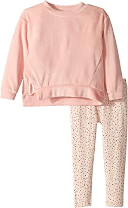 Splendid Littles - Velour Sweatshirt Set (Little Kids)