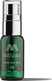 MASAMI Mekabu Hydrating Shine Serum Travel Size Sulfate Free, Paraben Free, Vegan