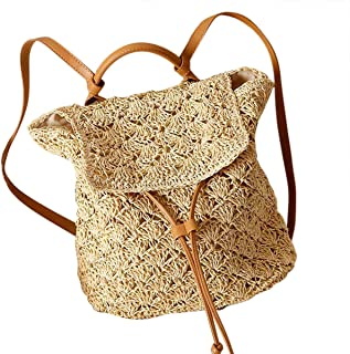Bolso de mano Mochila con cordón de ganchillohttps://amzn.to/2IZVX5K