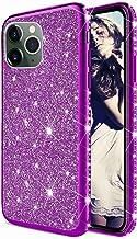 TYWZ Glitter Diamond Case voor iPhone 11 Pro Max,Bling Rhinestone Beschermende Bumper Siliconen Plating Frame TPU Cover vo...