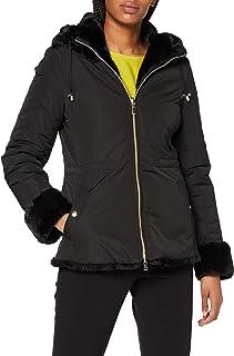 Geox W Kaula Faux Fur Coat para Mujer