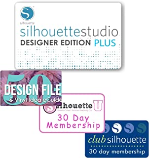Silhouette Silh Studio De 3t Studio Designer Edition Software Card For Scrapbooking