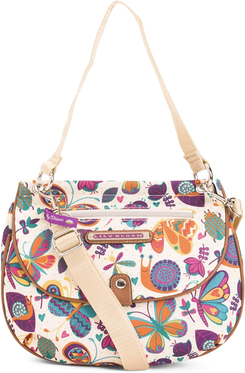 Lily Bloom QUINN CONgreenIBLE Crossbody Bag, Butterflies & Bugaboos, Eco Friendly