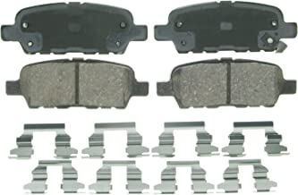 Wagner QuickStop ZD905 Ceramic Disc Pad Set Includes Pad Installation Hardware, Rear