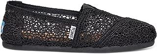 Women's Classic Moroccan Crochet Casual Shoe (7.5 B(M) US, Black Moroccan Crochet)