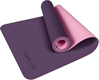 TOPLUS Yoga Mat - Upgraded Yoga Mat Eco Friendly Non-Slip...