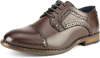 Bruno Marc Boy's Prince-K Classic Oxfords Dress Shoes