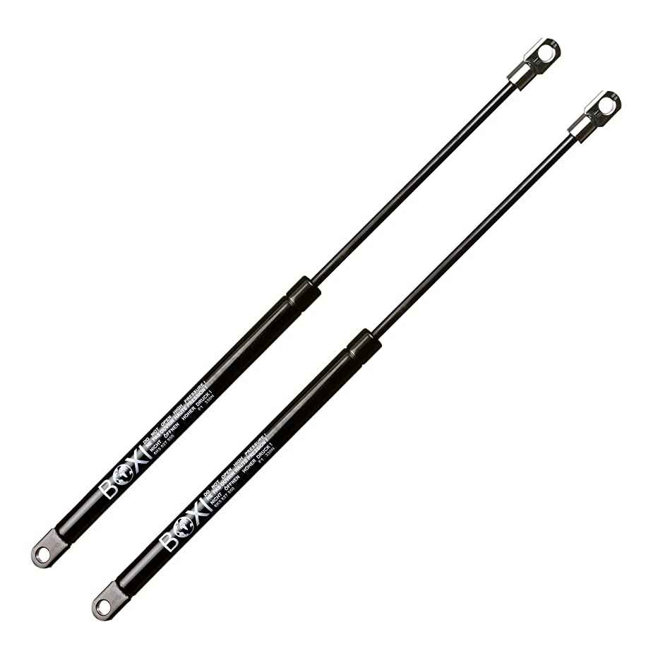 BOXI 2pcs Tailgate Gas Charged Lift Support Sturt Shocks Spring Dampers for SEAT Cordoba I (6K2/C2) 1993-1999, VW Polo Classic 1997-1999 Trunk Lift Support Damper Rear Shock Strut 6K5827550
