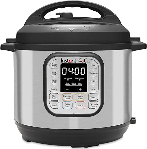 Instant Pot IP 80 Duo 7.6L / 8Q Electric Multi Function Cooker, Stainless Steel, 1200 W, 7.6 liters