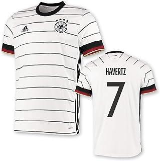 adidas DFB Deutschland Trikot Home EM 2020 Kinder inkl. auswählbarem Original Flock für Brust und Rücken