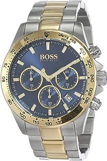 Hugo Boss Mens Quartz Wrist Watch, Chronograph and Stainless Steel- 1513767