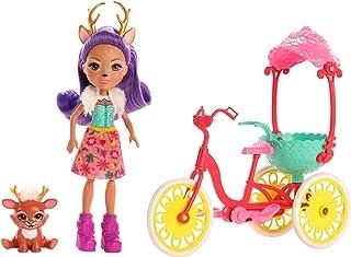 Enchantimals GJX30 Bike Buddies with DANESSA Deer Doll & Sprint