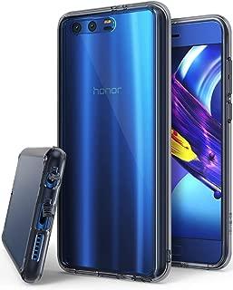 Rearth Huawei Honor 9 Ringke Fusion Shock Absorption Case Cover - Smoke Black