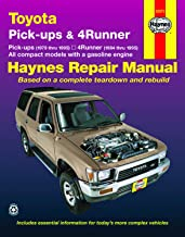 Toyota pick-ups (79-95), 4Runner (84-95) & SR5 Pick-up (79-95) Haynes Repair Man