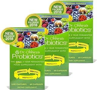 Dr. Ohhira's Probiotics Original Formula, 60 Caps (3 pack)