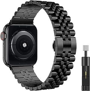 TKPOLD Link Bracelet for IWATCH Steel Steel Correa for Apple Watch 5 6 40mm 44mm Banda Serie 4 3 2 1 Deportes y edición Mu...