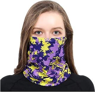 Bandanas Seamless Headband Scarf Gaiter Sun Protection Headwear Biker Motorcycle Neck Windproof Neckerchief