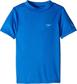 Solid Short Sleeve Swim Tee (Little Kids/Big Kids)