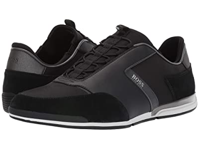 BOSS Hugo Boss Saturn Low Profile Sneakers (Black) Men