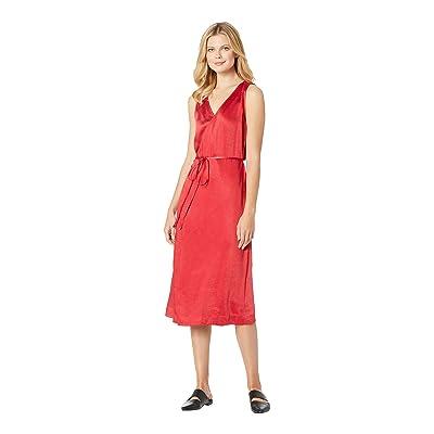Lilla P Wrap Dress (Red) Women