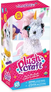 """Best THE ORB FACTORY LIMITED 10027964 Plush Craft 3D Unicorn, 5"""" x 4"""" x 10"""", Pink/White/Yellow/Grey Review"""