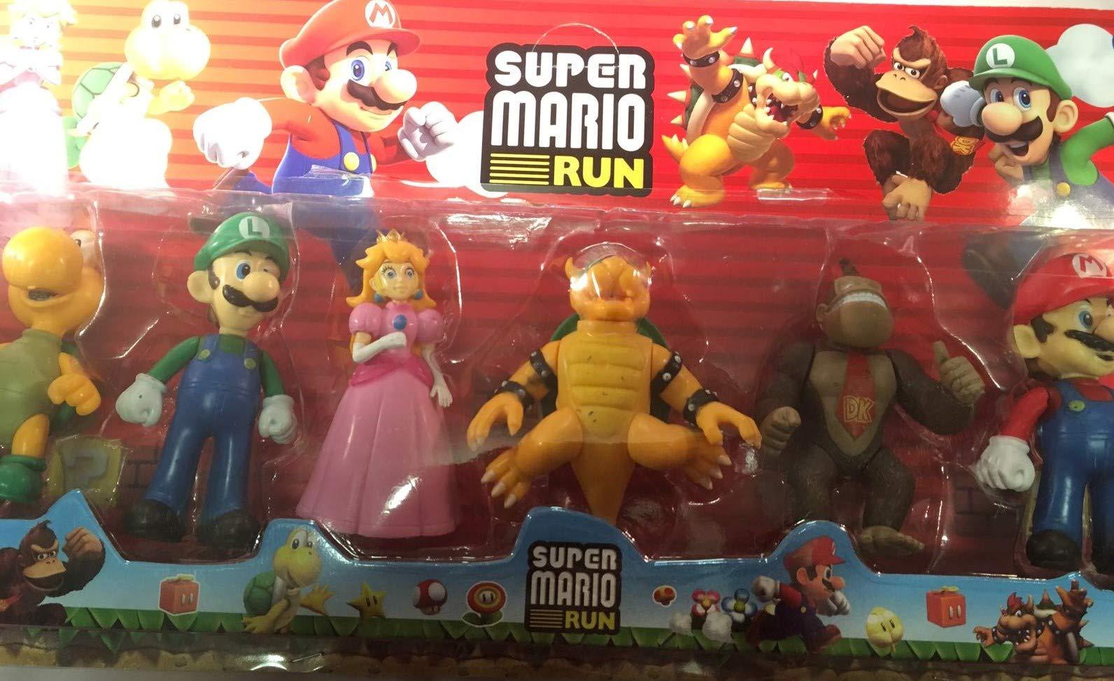Mario Pack de Figuras 6 Figuras: Amazon.es: Juguetes y juegos