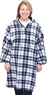 Silverts Disabled Elderly Needs Adaptive Wheelchair Clothing Cape Poncho for Women and Men