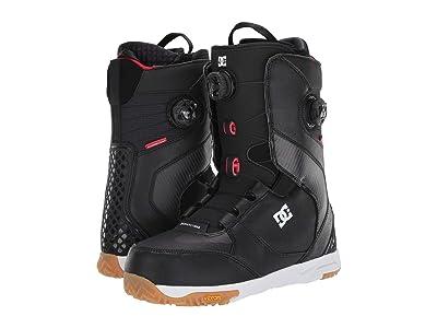 DC Shuksan Dual BOA(r) Snowboard Boots (Black) Men