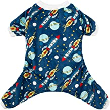 CuteBone Dog Pjs Onesies Pet Clothes Jumpsuit Apparel Soft Pajamas
