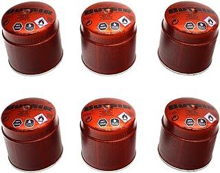 comprar comparacion 6 Cartucho Gas BUTSIR 190 GRS. Valvula CARB0005 – bombona perforable con limitador de Fugas – Botella Camping Gas Envio 24...