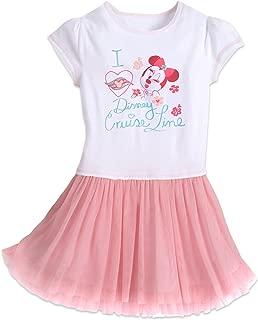 Minnie Mouse Tutu Dress Pink Floral Little Girls' XXS (3)