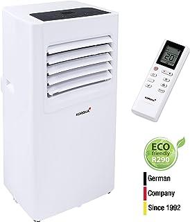 Korona - Aparato de aire acondicionado eléctrico, Blanco