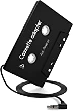 Car 3.5mm Universal Audio Cassette Adapter for iPhone/Android/Smartphones with Stereo Plug