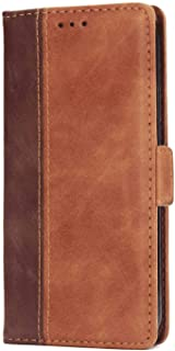 Leather Flip Case for iPhone XR, Business Wallet Cover Compatible with iPhone XR, with Waterproof Pouch for Smart Phone