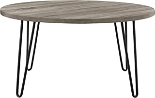 Ameriwood Home 3615307COM Owen Retro Coffee Table, Weathered Oak
