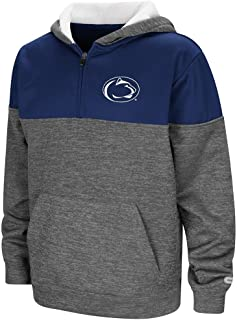 Colosseum Youth Penn State Nittany Lions Quarter Zip Pull-Over Hoodie