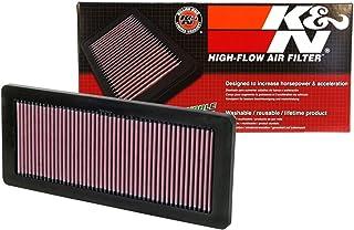 K&N 33 2936 Motorluftfilter: Hochleistung, Prämie, Abwaschbar, Ersatzfilter, Erhöhte Leistung, 2007 2019 (DS3, DS4, DS5, DS7, Grandland, Cooper Countryman, C5, C4L)