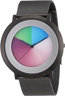Serie One Classic Titan Milanese, Colour Inspiration, Unisex Reloj de Pulsera, Acero Inoxidable