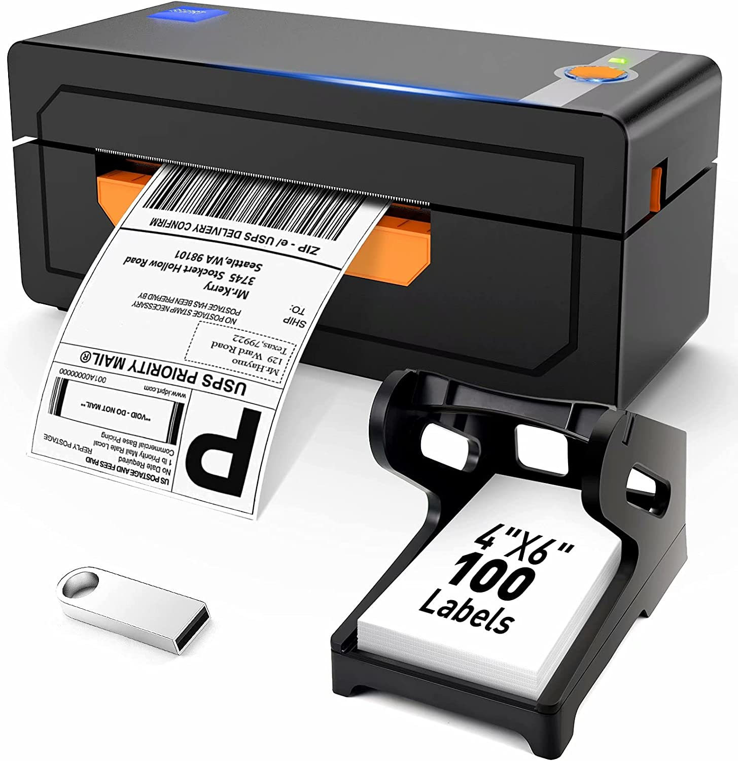 Thermal Label Printer Safety and trust 4x6 Support Windo Shipping Ranking TOP14