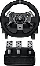 Best Logitech G920 Dual-motor Feedback Driving Force Racing Wheel with Responsive Pedals for Xbox One (Renewed) Review