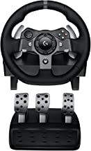 Logitech G920 Dual-motor Feedback Driving Force Racing Wheel with Responsive Pedals for..