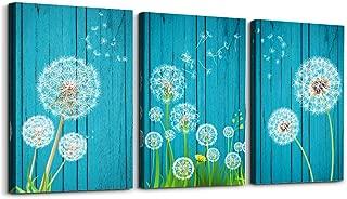 Best dandelion 3 piece wall art Reviews