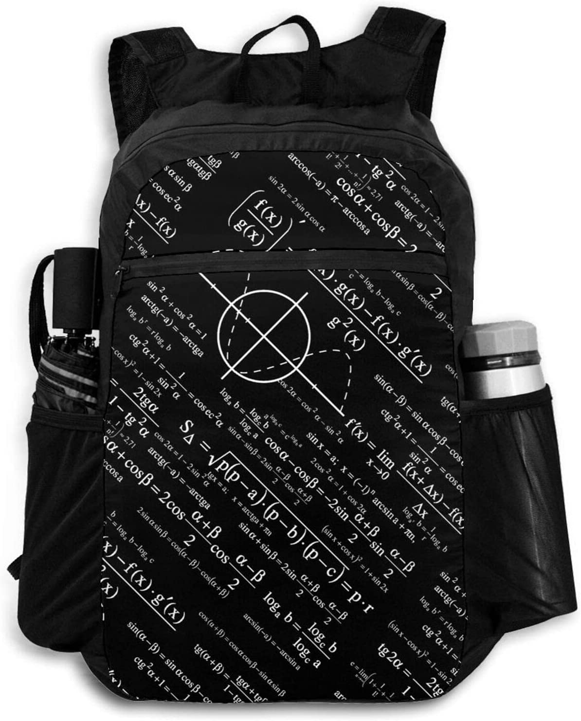 Zolama Physics Physicists Backpacks for Popular overseas Cute Super intense SALE Women Packable Men