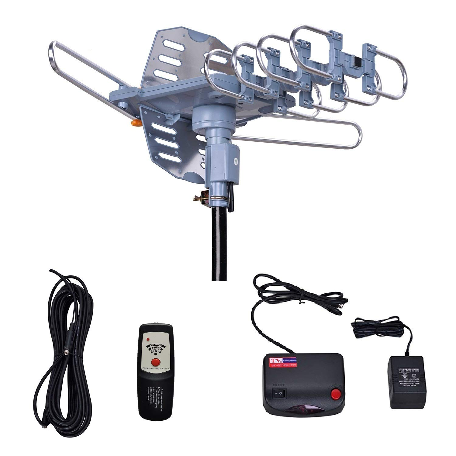 Will Brands Antenna 4K Cable Motorized Installation