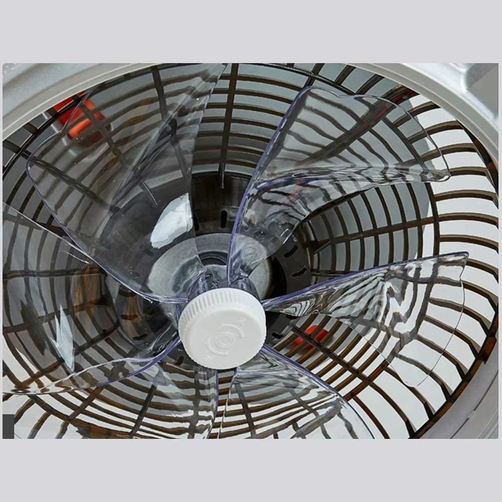 SXGDX Ventilador de techo con luz LED, regulable, velocidad del ...