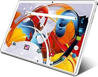タブレット 10.1インチ Wi-Fiモデル 3G電話機能付きタブレット simフリー Android 9.0 クアッドコアCPU 鮮やかな解像度1280*800IPS 32GB ROM 128GBまで拡張可能 デュアルカメラ/スピーカー B...