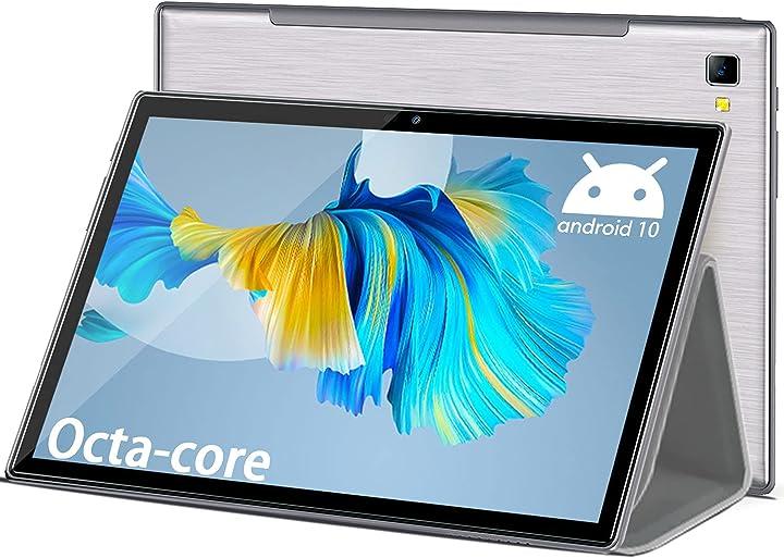 Tablet 10 pollici 4g lte+5g wifi octa core 6gb ram 64gb/512gb espandibili 1920*1200 android duoduogo B08T9FKM48