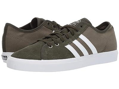 adidas Skateboarding Matchcourt RX (Night Cargo/Footwear White/Raw Khaki) Men