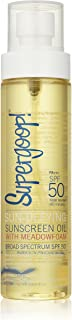 (150ml) - Supergoop Sun-Defying Sunscreen Oil with Meadowfoam SPF 50