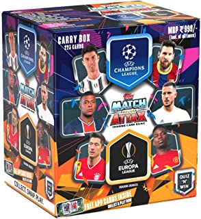Topps UEFA Champions League & Europa League TCG 2020/21 (Carry Box)